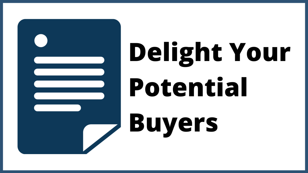 you need to delight your potential buyers in inbound marketing